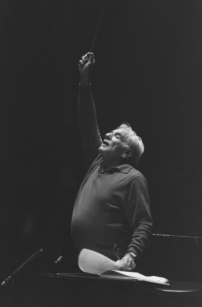 Leonard Bernstein 1987.10.07. (Hollandia)
